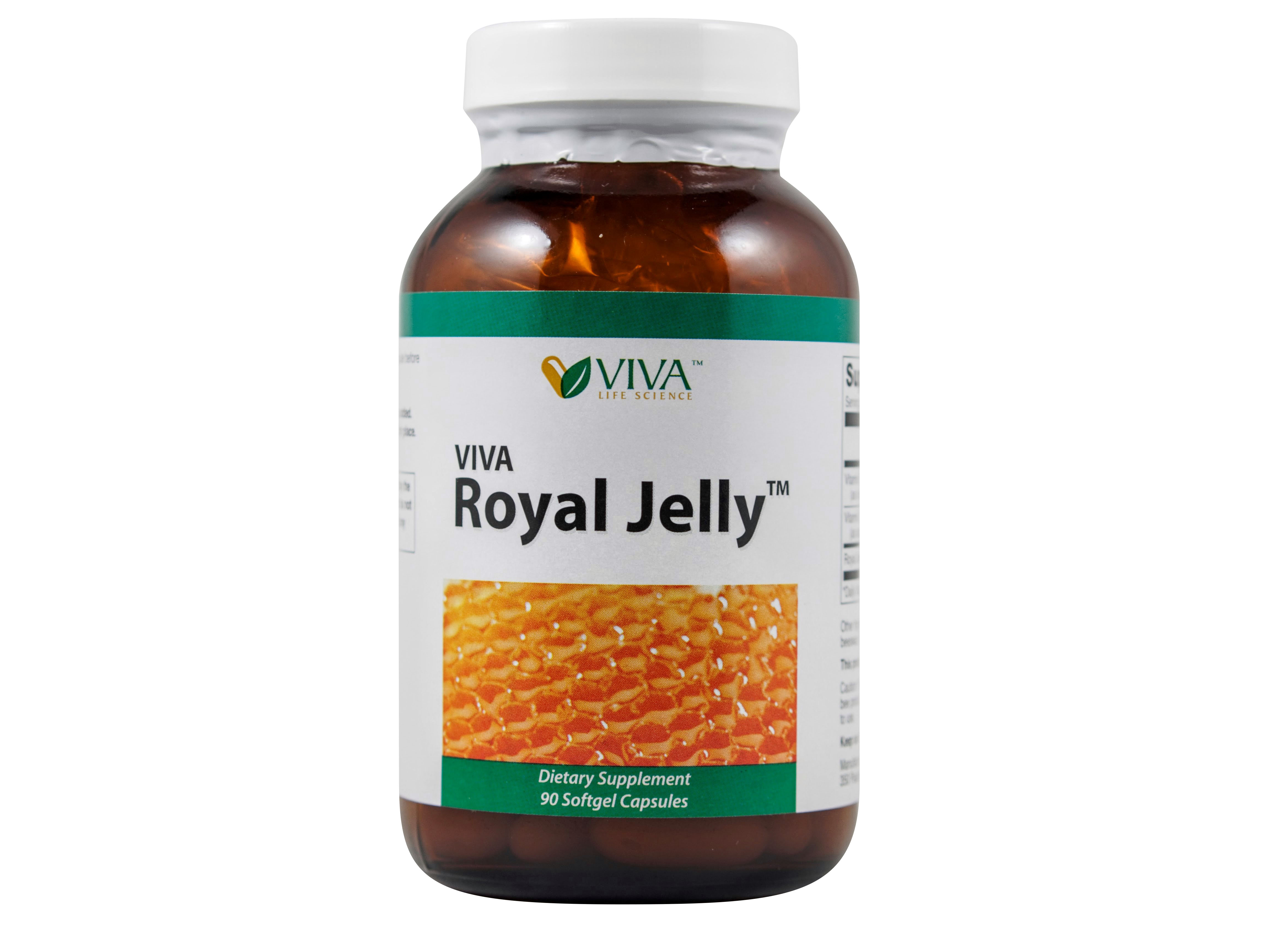 VIVA Royal Jelly™ - (90 softgels) Promo[6+1]